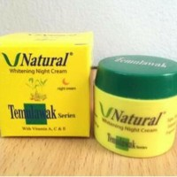 Temulawak V natural Night Cream/krIm V-natural malam original bpom