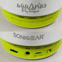 SONIC GEAR Aquarius ( Speaker Bluetooth  With Water Fountain )