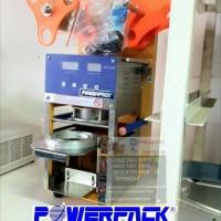 KUALITAS TERBAIK Mesin press gelas capucino cup sealer otomatis