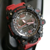 Best Seller Jam Tangan G Shock Casio Pria Merah Jaman Now Cool