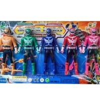 Brick Lego Mainan Power Ranger Set Megaforce 5 Rangers Murah