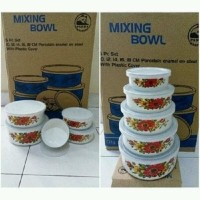 MURAH ASLI mixing bowl maspion 5 susun-rantang maspion set 5 BPA FREE