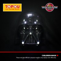 Brick Lego Puzzle Mainan Topeng Star Wars Darth Vader LED