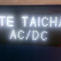 Tulisan Lampu Led Sign display SATE TAICHAN AC DC KULINER ENAK - MURAH