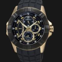 Seiko SRL070P1 Lord Black Gold Original