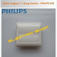 Saklar Engkel / 1 Gang Switch - PHILIPS ESSENTIAL