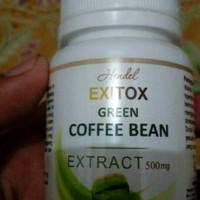 exitox green coffee bean obat pelangsing herbal