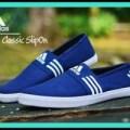 Sepatu Slip On Santai Pria Adidas Classic - FREE 1PASANG KAOS KAKI #4