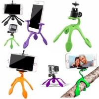 Terupdate Gekkopod Flexible Mini Tripod Hp Handphone Kamera Xiaomi Yi