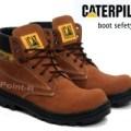 SEPATU BOOTs PRIA Sepatu Cat/Caterpillar Boots Suede Safety Brown