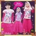 (1-12 tahun) Gamis Kaos Anak Mamanda Hommy Dress Misty Grey