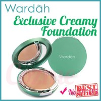 ORIGINAL Alas Bedak Wardah Exclusive Creamy Foundation