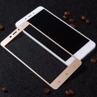 Xiaomi Redmi Note 4 Mediatek Tempered Glass 3D Full Color - Putih