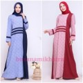Gamis Kaos - Gamis Alnita AG 41 SMLXL - Daily Dress Simple