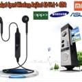 Headset Bluetooth Sport S6 Wireless v4.2 - SAMSUNG - MI - ASUS - OPPO