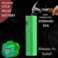 SONY VTC4 18650 2100mAh 30A Battery VTC 4 18650 AUTHENTIC BERGARANSI