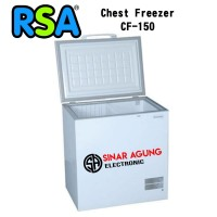 RSA Freezer Box CF 150 Putih Chest Freezer 150L