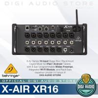 PROMO CERIA Behringer X Air XR16 [ XR 16 ] 16 Input Digital Mixer