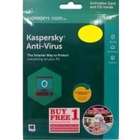 Kaspersky Anti Virus 1 User 2018