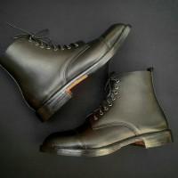 Sepatu Kulit pria Boot Captoe