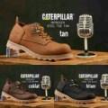 PROMO TERMURAH TERLARIS Caterpillar / Cat Suede Low Boots Sepatu Pria