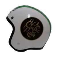THI Helmets Classic Grafis Helm Half Face -