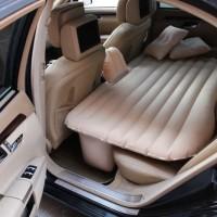 Portable Traveling Car Bed Kasur Pompa Angin Tempat Tidur Matras Mobil