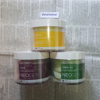 SHARE / 2 PAD / NEOGEN BIO PEEL GAUZE PEELING LEMON GREEN TEA WINE