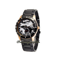 Jam Tangan Sporty Mirage 8574M Army Black Rosegold