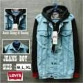 Jaket Levis  jaket jeans kombinasi jaket anak muda terbaru