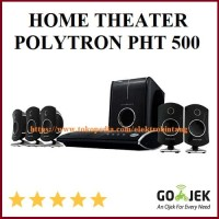 Home Theater Polytron PHT 500 DVD Karaoke USB SPEAKER AKTIF