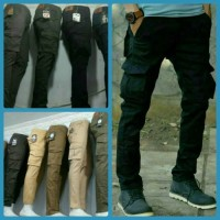 celana cargo panjang big size 37-42 / long cargo pants
