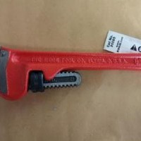 Kunci Pipa RIDGID Pipe Wrench 8 Inch Steel Handle - Kunci Pipa 8 inc