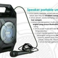 Promo Hot Sale....Speaker Aktif Portable Bluetooth Usb Dazumba Dw 186