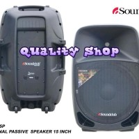 SPEAKER PASIF MONITOR SOUNDCLUB 15 INCH S155P SATU SET Limited
