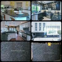 Meja Granit Biru Mata Kucing,Meja Dapur,Kitchen,Wastafel,Bar,Pantry