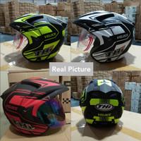 Helm Half Face THI VeLoce / Helm SNI Murah Terlaris Good Quality