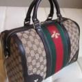 TAS GUCCI ORIGINAL - Gucci Bee Boston Bag