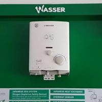 New! Pemanas Air Gas Water Heater Wasser Wh 506A Hot