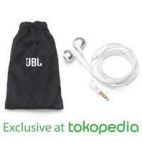 JBL T205 Earphone - Chrome - Exclusive Tokopedia