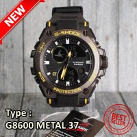 MODEL TERBARU !! G-SHOCK CASIO G8600 METAL BESI JAM TANGAN SPORTY PR