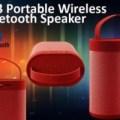 New! Speaker Bluetooth Tube Cloth Sound Box By Harman | Bcare J-43