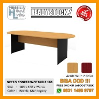 [READY STOCK] Meja Meeting Kantor Necro Conference 180
