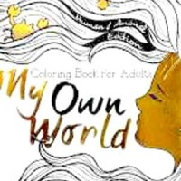 Terbaru Coloring Book For Adults My Own World 1 Travel Size