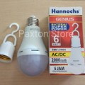 Lampu Emergency LED AC/DC 6W Genius Hannoch