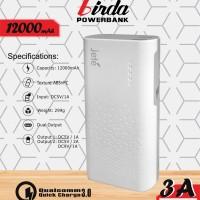 JETE Power BAnk Firda 12000mAh PowerBank Jete 12000 mAh Firda Original