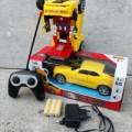 Rc Car Transformers - Mobil Remote Control - Mainan Robot Anak Edukati