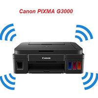 CANON PRINTER ALL IN ONE G3000 PRINT SCAN COPY WIFI BER Murah