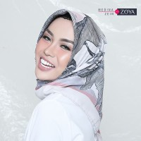 Medina Zein for Zoya - Kerudung Segi Empat Cantik - Camilla Scarf