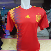 jersey piala dunia spanyol home 2018 official great ori thailand